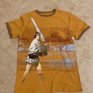 NEW Disney Star Wars pocket graphic tee shirt